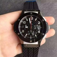Wholesale Nice Automatic Watches - hbb v6 4100 automatic chronograph men watch wristwatch best version top grade quality nice watches must have
