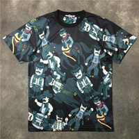 Wholesale Summer Tshirt Fashion Tops - 2017 summer fashion brand Mens T-shirts Men Short Sleeve Casual tshirt Tee Tops Mens cowboys of the embroidery Tshirt Mens Clothing