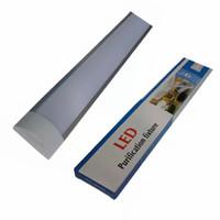 accesorios de iluminación usados al por mayor-Accesorio de purificación LED de 2 pies y 3 pies y 4 pies para uso en interiores con superficie de supermercado montada en la superficie luz de techo