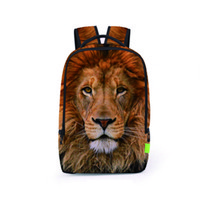 45388740c952 cool backpacks for boys UK - Cool Children 3D Animal Felt Backpack Men  039
