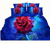 Wholesale Rose Printing Machine - 6 Styles Luxurious Noble White Rose Pearl Necklace 3D Printed Bedding Sets Twin Full Queen King Size Bedspreads Duvet Cover Gift Anniversary
