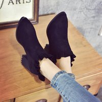Wholesale Ladies Korean Boots Heels - Free Shipping Korean Version Ladies High-heeled Boots Children Shoes Boots New Spring Woman Shoes