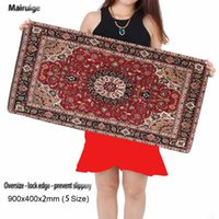 Wholesale Rubber Carpet Pads - 2017 New Hot Persian Carpet Big Mouse Pad Laptop Home Office Keyboard Speed Controls The Edge Game Mouse Pad