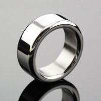 Wholesale Lock Cock Sex - Stainless Steel Metal Penis Rings,Delay Ejaculation,Prevent Impotence,Penis Lock,Cock Ring Clamp,Adult Game,Sex Toy
