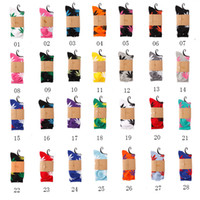 Wholesale Knee High Socks Hot - 28colors Hot High Crew Socks Skateboard hiphop socks Leaf Maple Leaves Stockings Cotton Unisex Plantlife Socks