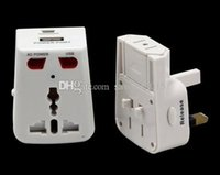 Wholesale Mini Dv Plug - BD-300 Motion Detection universal adaptor camera Power plug mini DV charger hidden covert camera video recorder BD-300 white