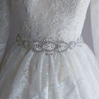 Wholesale Import Diamonds - Europe and the United States big import diamond rhinestone wedding belt bridal accessories, pure handmade ribbons wedding sashes 2017