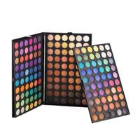 многоцветные тени для век оптовых-Оптовая новый 180 цветов мульти-сочетание макияж глаз красота водонепроницаемый цвета составляют палитра теней для век 5 компл. / лот бесплатная доставка