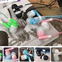 наушники fedex оптовых-500 шт. 3,5 мм наушники-вкладыши наушники-вкладыши гарнитура наушники для ПК ноутбук MP3 MP4 DHL FEDEX бесплатно (DY)