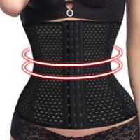 bustier großhandel-Gute Qualität Bodysuit Frauen Taille Trainer Bauch Slimmer Shapewear Ausbildung Korsetts Cincher Body Shaper Bustier kostenloser Versand