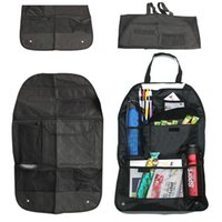Wholesale Collector Auto - Universal Car Storage Bags Mesh Car Auto Back Seat Hanging Organizer Collector Bags Assorted Bag Luggage Holder Pocket