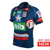 Wholesale Patriot Jerseys - Newcastle Knights 2017 Marvel Iron Patriot Jersey rugby jerseys shirts 17 18 The pre-sale top quality S-3XL