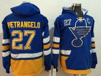 Wholesale Sports Hoodies For Cheap - #27 Pietrangelo Sports Hoodies St. Louis Blues Sports Hoodies Blue Stitched Sports Hoodies Cheap Hockey Jacket Online for Men Wears