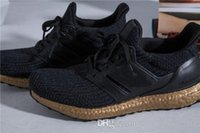 Wholesale Women Winter Boots Size 11 - New Ultra Boost 3.0 Black Copper BA8922 Outdoor Shoes ,Real Boost 350 V2 Zebra Triple Black White Running Shoes Size 5-11