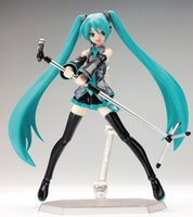 "Wholesale Wholesale Japan Anime Collection - Anime Hatsune Miku PVC Children's Figurine Toy Brinquedos Japan Anime Model Gift Collection 6 ""15 cm"