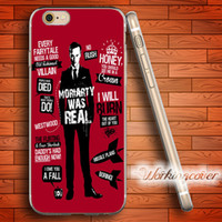 Wholesale Iphone 4s Sherlock - Capa Sherlock Quotes Soft Clear TPU Case for iPhone 6 6S 7 Plus 5S SE 5 5C 4S 4 Case Silicone Cover.