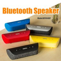 Wholesale Mini Stereo Bluetooth Handsfree - New Arrival Aibimy MY658BT Bluetooth Speaker Mini Subwoofer Bass Sound Handsfree Call TF Card Slot AUX Wilreless Stereo Muisc Player