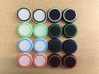 Wholesale xbox one silicone case - Rubber Ring Gel Analogue Noctilucence Silicone Colorful Cap Thumb Stick Joystick Grip For Sony PS4 PS3 Xbox 360 Xbox one Controller