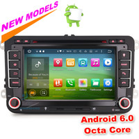 """Wholesale Dvd Amarok - HD 7"""" Octa-Core Car DVD Android 6.0 GPS Navigation for VW Caddy Sharan Amarok Polo Scirocco Leon DAB+ Car Radio WIFI DTV-IN"""