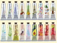 Wholesale Skin Whitening Cream Korea - Wholesale-(30ml pc) South Korea EXO Hand Cream Whitening Hand Cream Crema De Manos Skin Defender Cream