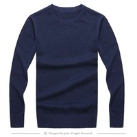 Wholesale High Quality Polos Knitting Sweater Mens Pullover Sweater Crew Neck Men s Sweater Sweaters