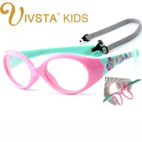 Wholesale Framed Baby Prints - 2017 IVSTA with Strap 0-5 years Small Baby Glasses for Children Eyeglasses TR90 Silicone Glasses Frames for Kids Optical Frame Soft