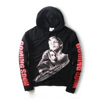 Wholesale Super Man Sweater - VETEMENTS Wu Yi Fan commemorative models Titanic super long sleeve hooded sweater sweater GD right to the same dragon
