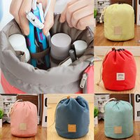 Sac À Bandoulière Pas Cher-Vente en gros - Home Travel Cosmetic Makeup Bag Toiletry Jewelry Drawstring Storage Case Pouch