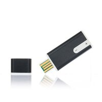 ingrosso unità flash del lettore audio-Vendita all'ingrosso- Lettore MP3 3 in 1 USB Flash Drive da 8 GB Pen Disk Audio Voice Recorder Lettore MP3 riproduttore mp3 Alta qualità #UO