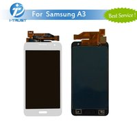 Wholesale Galaxy S3 Digitizer Repair - For Samsung Galaxy A3 Screen Panel with Good Quality For Repalcement or Repair LCD Digitizer With Free DHL Shipping