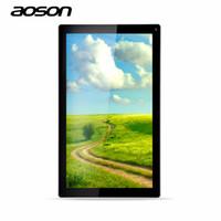 cámara g sensor tableta al por mayor-Venta al por mayor - Tabletas baratas de 8 GB 10.1 pulgadas tableta Android Aoson M1016C Quad Core Allwinner A33 Android 4.4 Cámaras duales Android WiFi