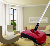 Wholesale 2017 new arrival rotary home use magic manual telescopic floor dust sweeper