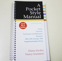Wholesale English Manual - A Pocket Style Manual: 2016 MLA Update ship in 24h