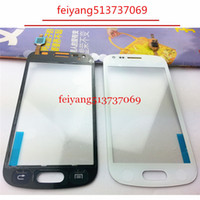 """Wholesale S7562 Galaxy S Duos Touch - 20pcs ORIGINAL by DHL EMS 4.0"""" For Samsung Galaxy S Duos S7560 S7562 Touch Screen Digitizer Sensor Front Glass Lens"""