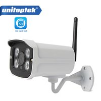 Wholesale 2mp Wireless Ip Outdoor Camera - HD 720P 960P WIFI IP Camera Outdoor 1080P 2MP Home Security Cameras Onvif CCTV Wi-Fi Wireless Cam TF Card Slot APP CamHi P2P
