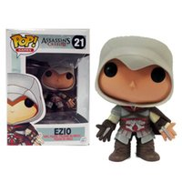 Wholesale assassins creed toys - LilyToyFirm Doll Assassins Creed Ezio 21# Games PVC Movie Vinyl Cute Action Figure Collection Gifts Toys