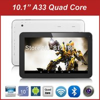 Wholesale Cheapest Tablet 16gb - Wholesale- 2016 New Cheapest High Quality Android 4.4 Kitkat 10 inch Tablet PC 1GB RAM 8GB 16GB ROM Bluetooth WiFi Quad Core Tablet+ Gifts