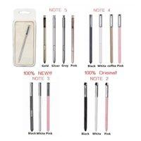 оригинальное перо для заметки оптовых-Горячие продажи оригинальный стилус S Pen емкостный сенсорный экран для универсального мобильного телефона Samsung Galaxy Note 2/3/4/5 с розничной коробке 50 шт.