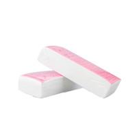 Wholesale Hair Wax Strips - Pro 100pcs Hand Leg Hair Removal Wax Strip Paper Depilatory Nonwoven Epilator thickening non-woven hair removal paper
