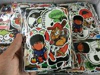 refrigerador de vinilo al por mayor-100 unids Estilo Colorido Pegatinas de Coche Estilo Mixto Divertido de Dibujos Animados de Vinilo Calcomanía Stying Skateboard Equipaje Refrigerador Portátil Cubierta Del Coche DIY Etiqueta