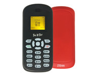 Wholesale Qwerty Zte Phones - Unlocked GSM 900 1800 1900 ZTE S500 English Mini Phone 1.0Inch Screen Single Sim Card Free Shipping