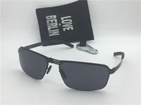 métal allemand achat en gros de-Lunettes de soleil de marque allemande de marque IC paire annihilation ultra-léger sans vis mémoire alliage amovible cadre métallique pliant lunettes de soleil