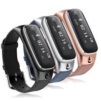 Wholesale Bracelet Watches Cell Phone - Luxury Smart Watch Bracelet M6 with Detachable bluetooth Headset Sports Pedometer Sleep monitor Bracelet for iphone Android IOS Cell Phones