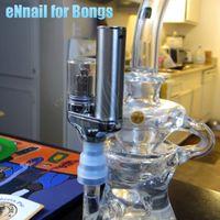 Wholesale Electric Vapors - Yocan Torch Portable eNail Vaporizer Kit Wax dry herb vape Pen Quartz Dual Coil Herbal vapor vapor bong electric dab e cigarettes