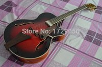 Wholesale Electric Archtop - 2015 Chinese Factory Custom New Arrival jazz Eastman AR805CE Uptown Archtop Electric Guitar 930