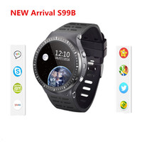 Wholesale Gps Kids Cellphones - Android 5.1 Smartwatch GSM 3G Quad Core 8GB ROM Smart Watch cellphone With Camera GPS WiFi Bluetooth V4.0 Heart Rate Monitor for ios android