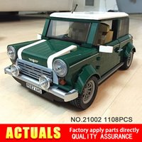 Wholesale Model Car Kits Children - 2016 new lepin 21002 technic series 1108Pcs car Model Building Kits Blocks Bricks Toys Compatible With Hands-on Children Gifts