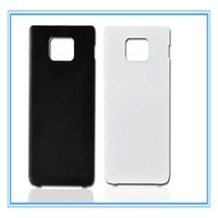 Wholesale Back Cover Battery S2 - New Rear Back Cover Door Battery Cover Case For Samsung Galaxy S2 SII I9100 Cellphone Body Repair Replacement Parts Faceplate Panel Frame