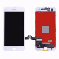 Wholesale Order New Iphone Screen - 4.7 inch new high quality AAA for iPhone7 LCD touch screen display digital converter components and frame, black and white mixed order free
