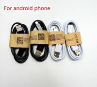 Wholesale New For Galaxy S4 - 2017 new USB- Micro Cable V8 V9 1M 3FT Sync Data line Charging Charger Wire For Galaxy S4 S5 Note 3 Type C Cable for l phone4567